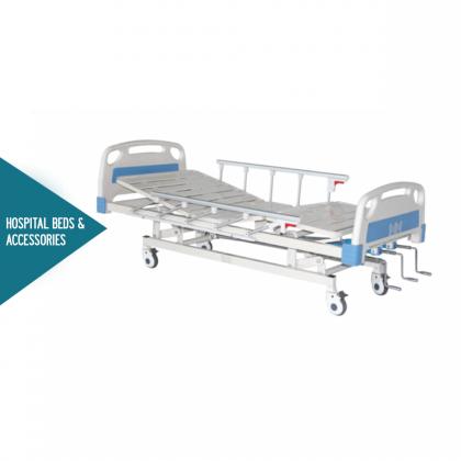 HOPKIN MANUAL TRIPLE-CRANK HOSPITAL BED