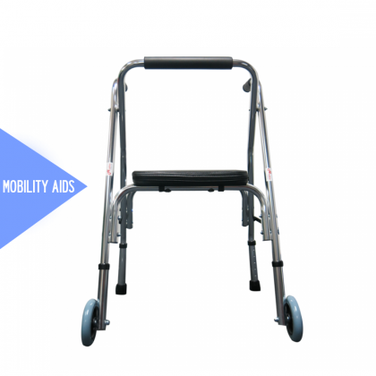 HOPKIN MOBILE WALKER WITH SEAT