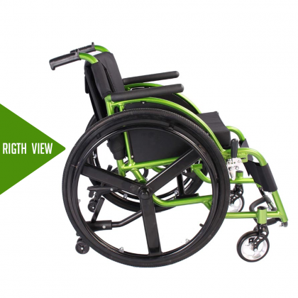 HOPKIN ALUMINIUM LIGHTWEIGHT SPORTS WHEELCHAIR