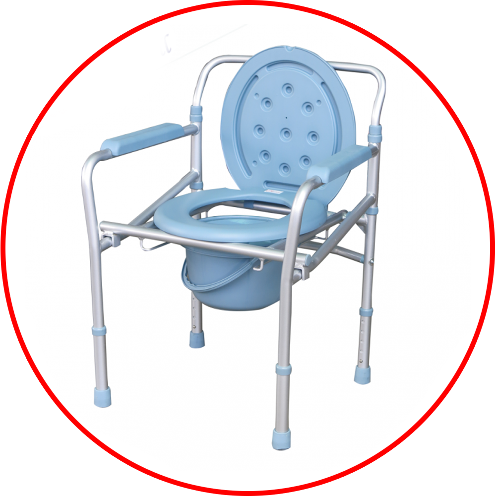 COMMODE & SHOWER CHAIRS